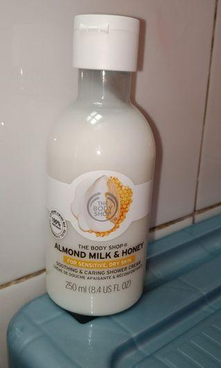 The body shop shower