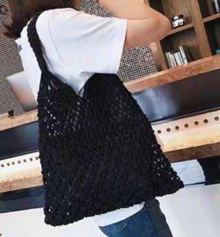 棉繩編織手袋