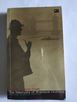 BEKAS Novel Sherlock Holmes Memoir The Memoars Conan Doyle Buku Detektif