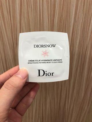 Dior迪奧雪精靈透亮輕凝霜試用包1ml