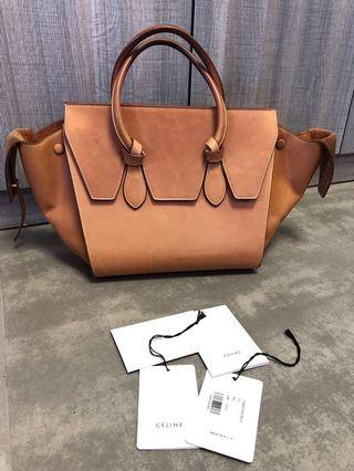 100% real Celine mini Tie tote bag
