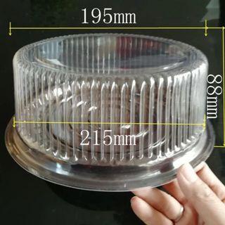 "BN 8"" Chiffon Cake Plastic Container"