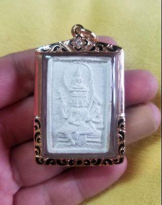 泰國佛牌屈剎騎 龍婆Doo 2517 皇者聖粉四面神大模(有印版本)