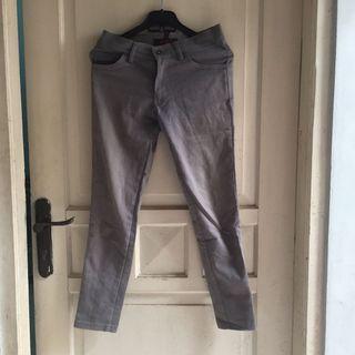 Grey Pants/celana jeans/semi jeans