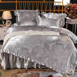 🎊 Promo Satin Skirting Bedsheet Set