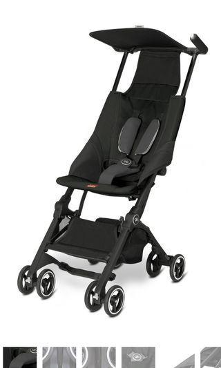 🚚 GB Pockit 2017 Stroller (Black) brand new