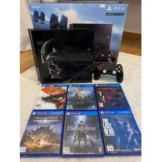 Playstation Star Wars Full-set console + 6 EXTRA GAMES (incl God of War)