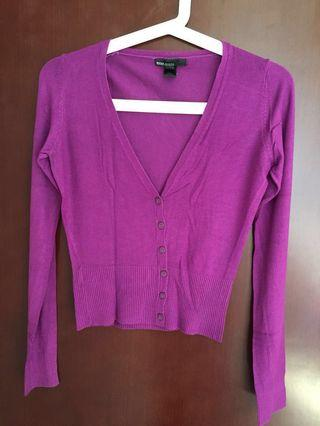 Cardigan Purple/ warna ungu #yukjualan
