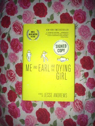 Me & Earl & the Dying Girl (HB, signed) by Jesse Andrews