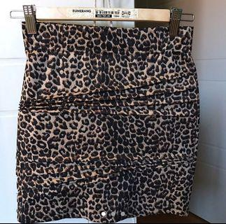 Bardot Cheetah Skirt