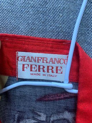 Gianfranco Ferre 襯衫 義大利製