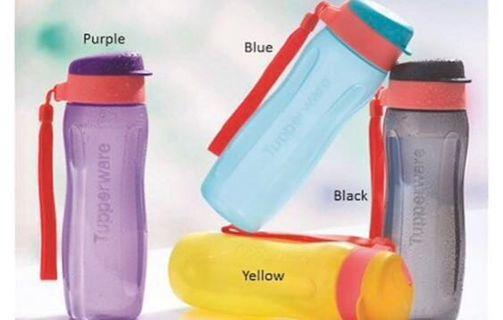 Instock! Brand New Tupperware 500ml Flip Top Bottle