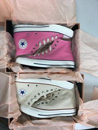 Converse addict natural pink US8
