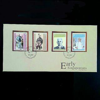 Early Singaporeans First Day Cover