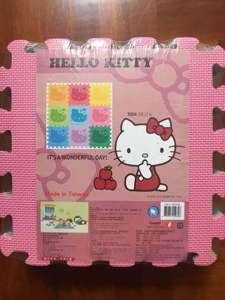 Hello kitty play mat 地墊