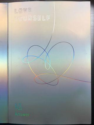 (附海報)LOVE YOURSELF 結 'Answer'原裝韓版(S 版)
