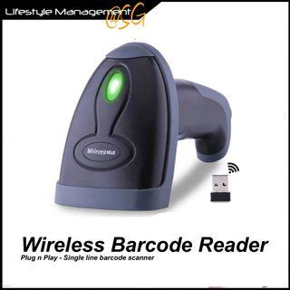 Barcode Bar Code Scanner Wireless Reader Warehouse Office Delivery