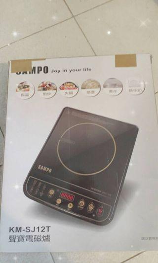 🚚 SAMPO聲寶  變頻電磁爐 9.5新