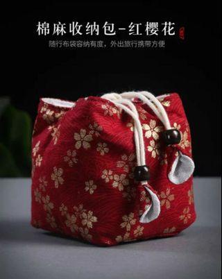 🚚 茗壺居....杯袋(1個75)