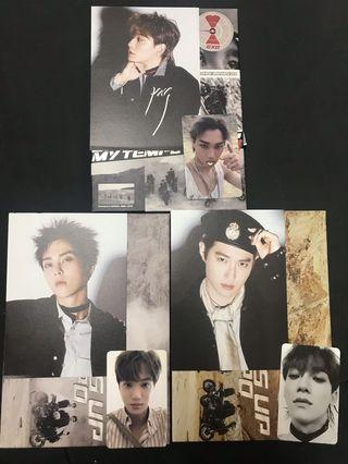 EXO-Don't Mess Up My Tempo(photocard & postcard)