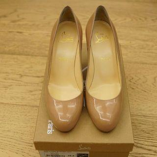 Christian Louboutin Simple Pump Nude 85mm Heel