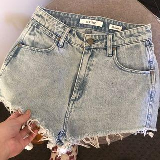 NEW Wrangler Hi Ryder denim shorts