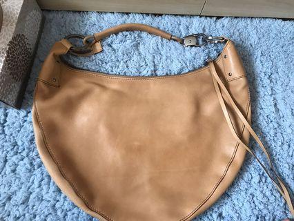 Gucci shoulder leather bag