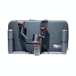Feiyu A2000 Gimbal Stabilizer Kit Dual Handle + Single Handle (Payload 2KG)