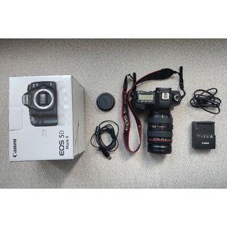 Canon EOS 5D Mark II + Lensa Canon 24-70mm F2.8