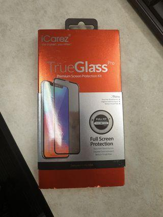 Icarez 2.5d Xs Max tempered glass