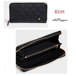 READY STOCK -AUTHENTIC - NEW Tory Burch Fleming Zip Continental Wallet