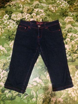 Logo jeans 3/4