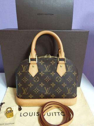 LV ALMA BB AUTHENTIC