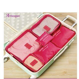 Luggage Travel Organiser 6pcs/set