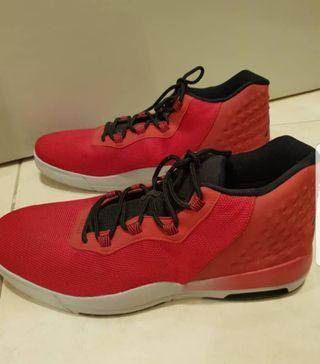 Michael Jordan Nike Air Red Sport Shoe