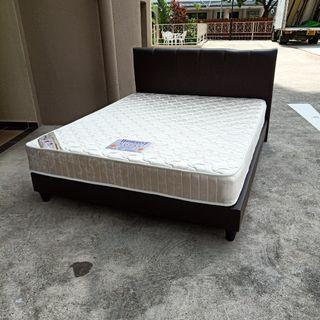 Queen Size Mattress and bed