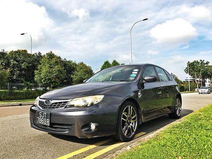 Cheap Grab Car For Rent & Lease Subaru Impreza 1.5 For Rental