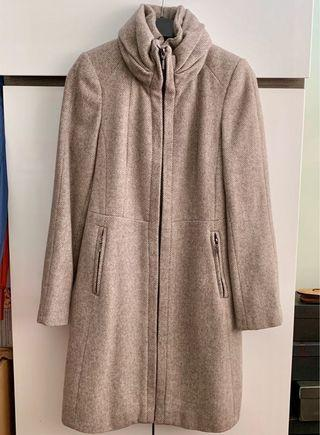 Zara Winter Coat with Ruffle Collar