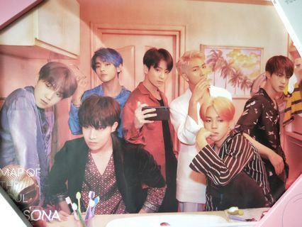🚚 Bts map of the soul persona poster