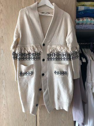 Initial coat size 3 white