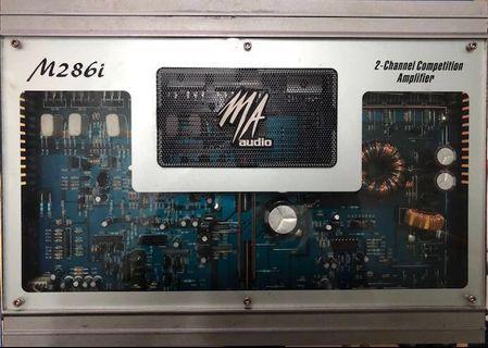 MA Audio M286i - 2 channel amplifier