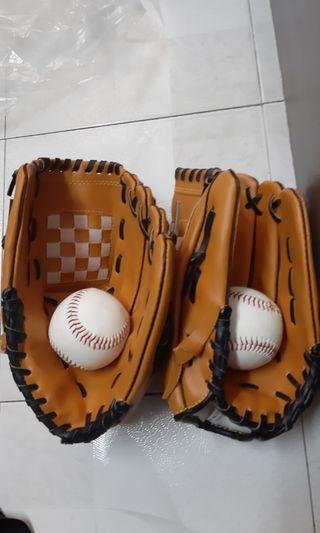 棒球 手套 2套