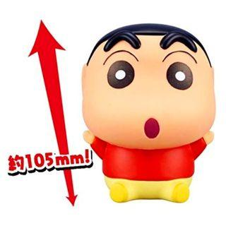 Bandai Crayon Shinchan 蠟筆小新 軟膠公仔 105mm 大大隻