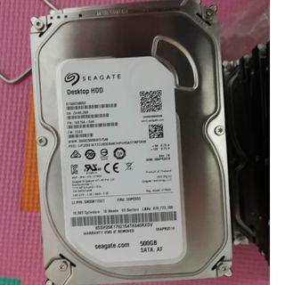 3.5 Inch Hard Disk HDD desktop for Sale /500gb /1TB