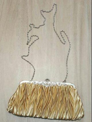 女裝 手袋 手拿包 金色( 婚宴, 結婚用 )wedding bag