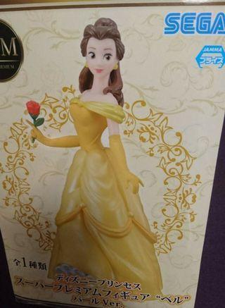 Disney迪士尼 belle貝兒 figure