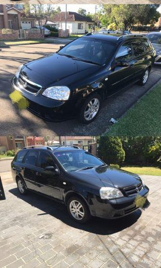 Holden Viva wagon 2007