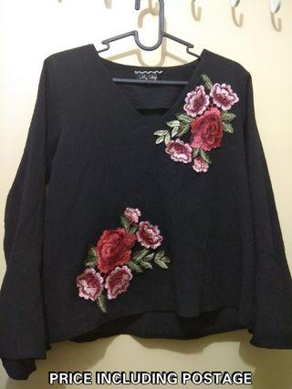 Embroidery Blouse (FREE POSTAGE)