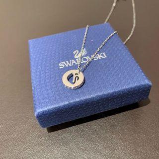 🚚 Swarovski 天鵝刻印項鍊