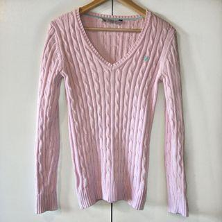 crew clothing co. cable knit sweater